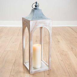 Silver New Hampshire Metal Lantern | Kirkland's Home