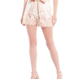 Mahila Floral High Rise Poplin Shorts | Dillards