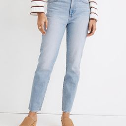 The Perfect Vintage Jean in Fiore Wash   Madewell