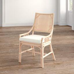 "Bungalo 22"" Wide Cotton Armchair   Wayfair North America"