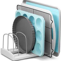 YouCopia Bakeware Storemore Adjustable Rack, Standard, White | Amazon (US)