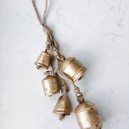 Gold Noah Bells | Holiday Door Hanger | Home Decor Accent | Christmas Decor | Etsy (US)