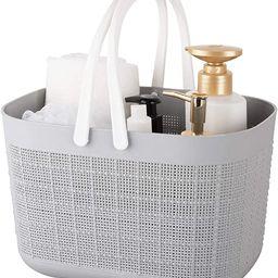 rejomiik Plastic Storage Basket with Handles,Storage Bins and Organization Containers for Bathroo... | Amazon (US)