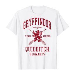 Harry Potter Gryffindor Quidditch Team Seeker T-Shirt   Amazon (US)