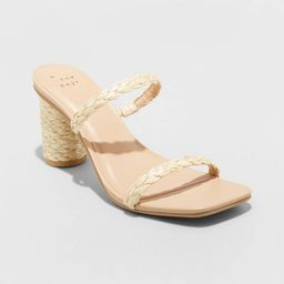 Women's Cass Square Toe Heels - A New Day™ | Target