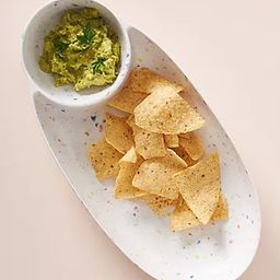 Selby Terrazzo Bamboo Melamine Chip & Dip | Anthropologie (US)