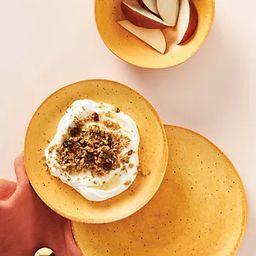 Gigi Bamboo Melamine Dinner Plates, Set of 4 | Anthropologie (US)