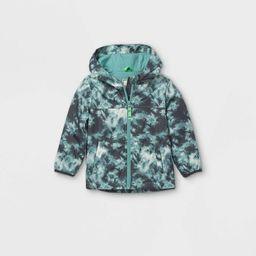 Toddler Boys' Tie-Dye Windbreaker Jacket - Cat & Jack™ Blue | Target