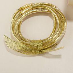 5pcs Christmas Glitter Bracelet | SHEIN