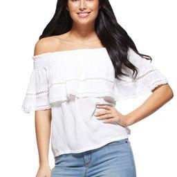 Sofia Jeans by Sofia Vergara Women's Cha Cha Top | Walmart (US)