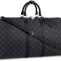 Louis Vuitton Keepall Bandouliere Monogram Eclipse 55 Black/Grey   StockX