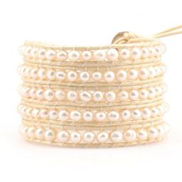 Freshwater Pearls on Ivory | Victoria Emerson