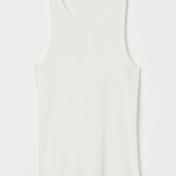 Silk-blend vest top | H&M (UK, IE, MY, IN, SG, PH, TW, HK, KR)
