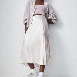 Slip skirt | H&M (UK, IE, MY, IN, SG, PH, TW, HK, KR)