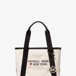 The Michael Small Canvas New York Tote Bag   Michael Kors (US & CA)