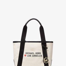 The Michael Small Canvas Los Angeles Tote Bag   Michael Kors (US & CA)