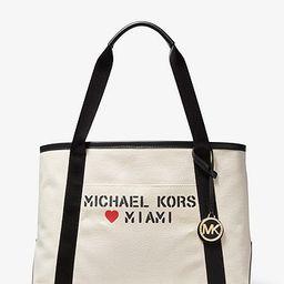 The Michael Large Canvas Miami Tote Bag   Michael Kors (US & CA)