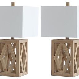 S/2 Penelope Table Lamps, Natural | One Kings Lane