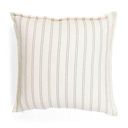23x23 Striped Pillow   TJ Maxx