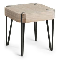 Wooden Accent Table   TJ Maxx