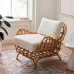 Savannah Rattan Chair | West Elm (US)