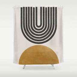 Mid Century Modern Shower Curtain | Society6