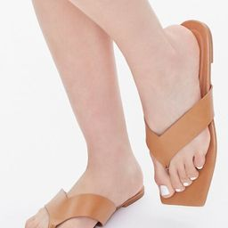 Square Thong-Toe Sandals | Forever 21 (US)