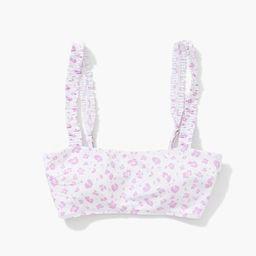Leopard Print Bralette Bikini Top | Forever 21 (US)