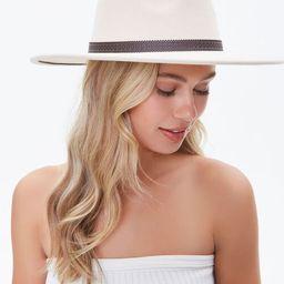 Cutout-Trim Panama Hat | Forever 21 (US)
