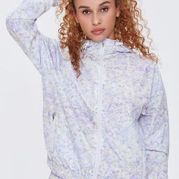 Active Ditsy Floral Windbreaker   Forever 21 (US)