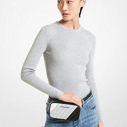 Rose Quilted Convertible Belt Bag   Michael Kors (US & CA)