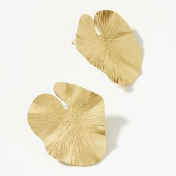 Lily Pad Post Earrings   Anthropologie (US)