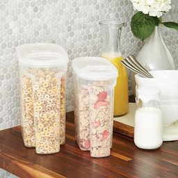 Tellfresh Store & Pour Dry Food Dispensers | The Container Store