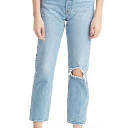 Wedgie Ripped High Waist Jeans | Nordstrom