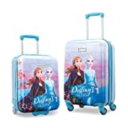 American Tourister Disney Hardside Luggage with Spinner Wheels, 2-Piece Set (18/21), Frozen | Amazon (US)