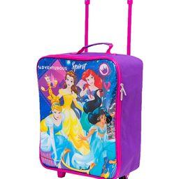 Bioworld Girls' Luggage - Disney Princess Purple & Pink Rolling Carry-On | Zulily