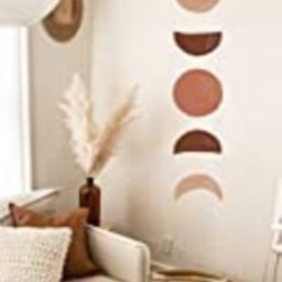 Moon Phases Wall Decal -Hand Drawn Moon Phases, Boho Decor, Crescent Sticker, Modern Decals, Moon Wa   Amazon (US)