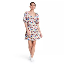 Floral Short Sleeve Button-Up Dress - RIXO for Target | Target