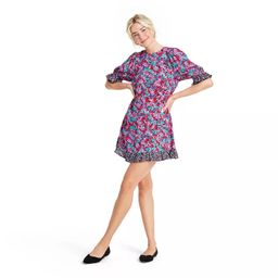 Mixed Floral Puff Sleeve Dress - RIXO for Target | Target