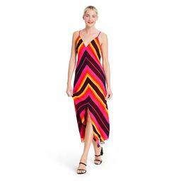 Chevron Sleeveless Slip Dress - Christopher John Rogers for Target Pink | Target