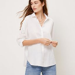 Relaxed Shirt   LOFT