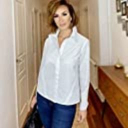 The Drop Women's White Button Down French Cuff Shirt by @sabthefrenchway, XS   Amazon (US)