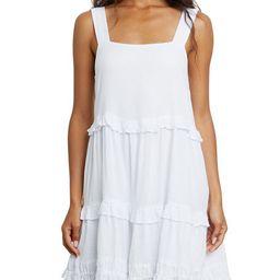 Rails Sandy Tiered Mini Dress   Neiman Marcus