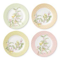 Citron Salad Plates, Set of 4   Williams-Sonoma