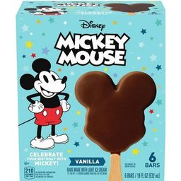 Disney Mickey Mouse Ice Cream Bars - 6ct | Target