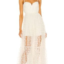 SAU LEE Belle Dress in White from Revolve.com | Revolve Clothing (Global)
