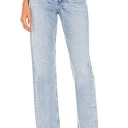 AGOLDE 90's Mid Rise Loose Fit in Snapshot from Revolve.com | Revolve Clothing (Global)