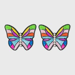 SUGARFIX by BaubleBar Colorful Butterfly Stud Earrings   Target