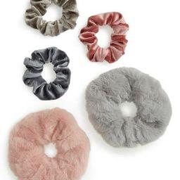 Velvet Scrunchies - Pack of 5   Nordstrom Rack