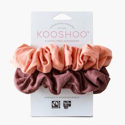 KOOSHOO™ Two-Pack Organic Cotton Scrunchies   Madewell